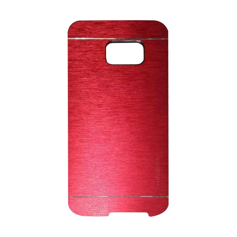 Motomo Metal Hardcase Backcase Casing for Samsung Galaxy S7 Edge - Red