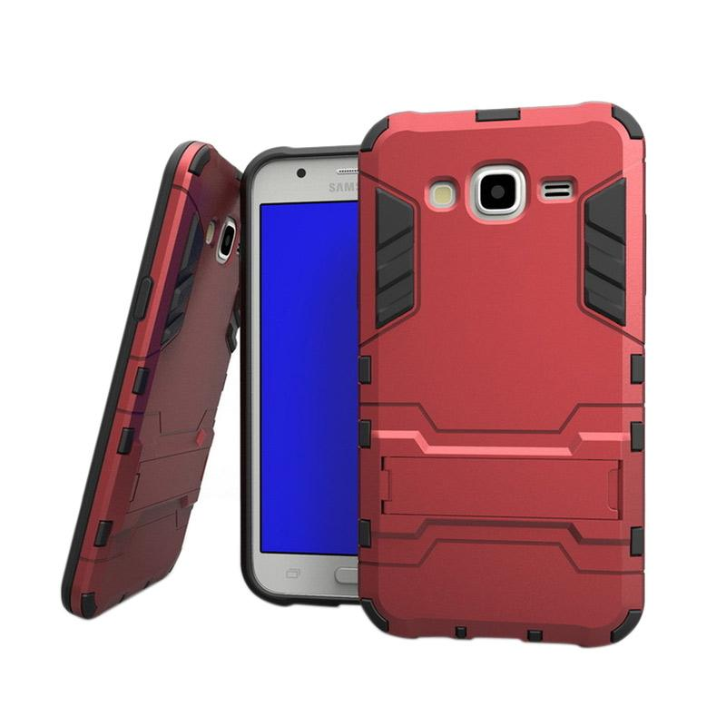OEM Transformer Robot Iron Man Casing for Samsung Galaxy J5 2016 J510 - Merah