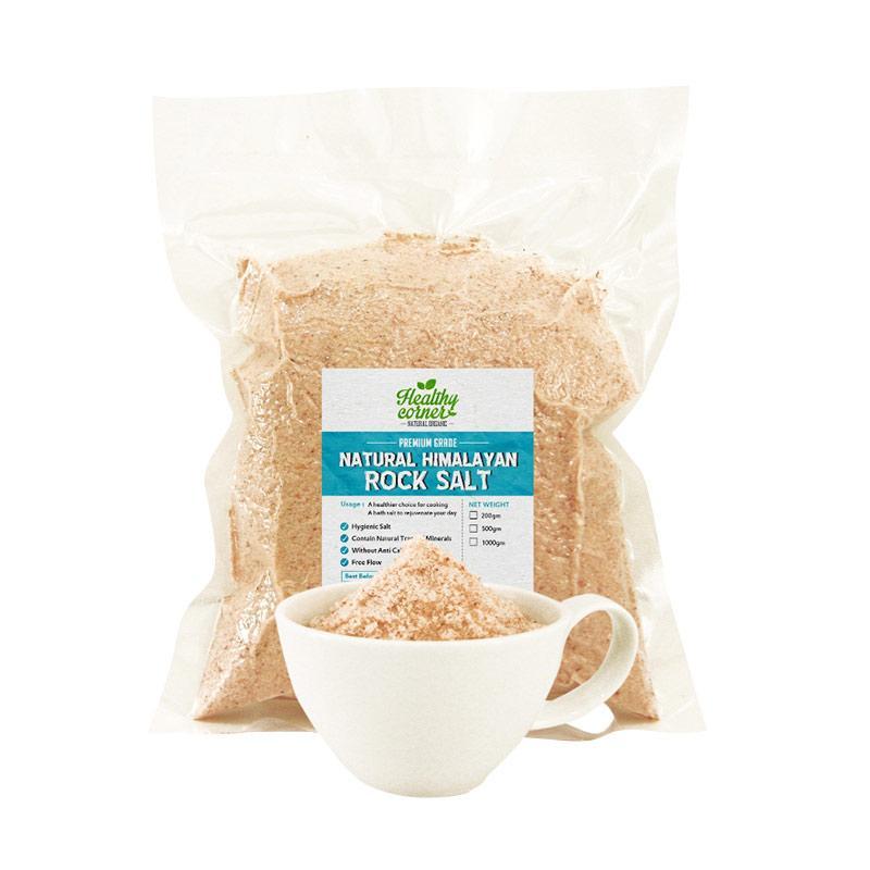 Healthy Corner Natural Pink Himalayan Salt Garam [500 g]