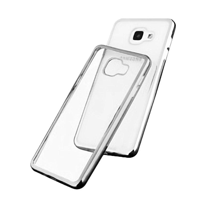 Ultrathin List Chrome Casing for Samsung Galaxy A5 2016 - Silver