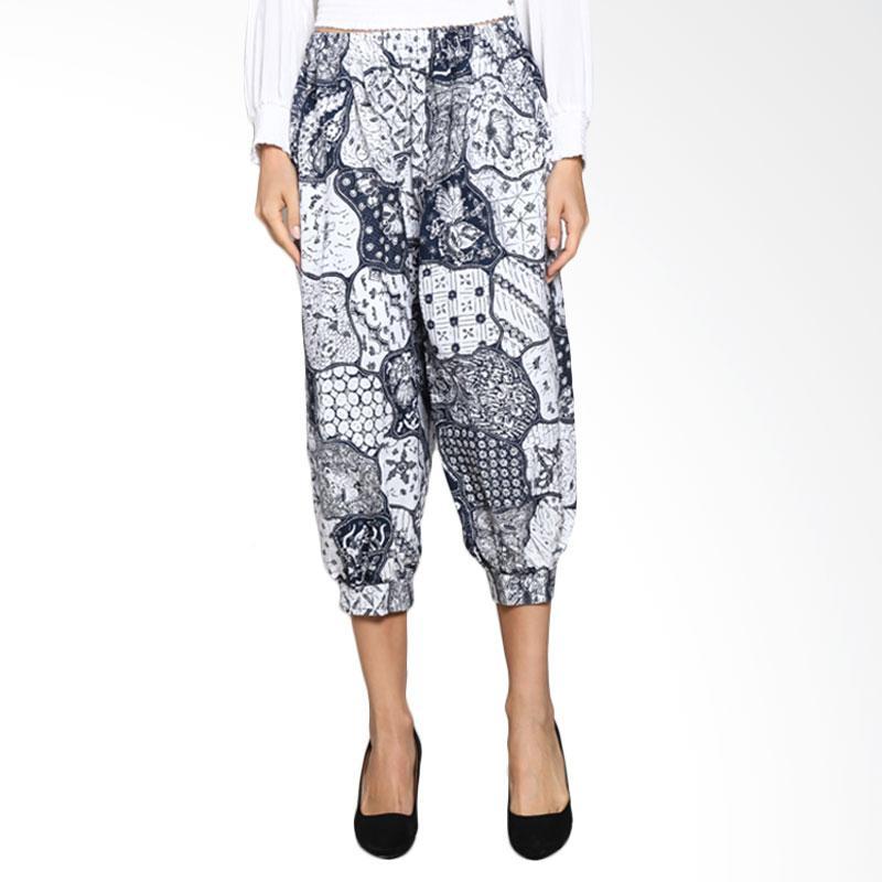 Batik Pria Tampan Wcl34-04081631p-Teak Women Soga Culotte Pants