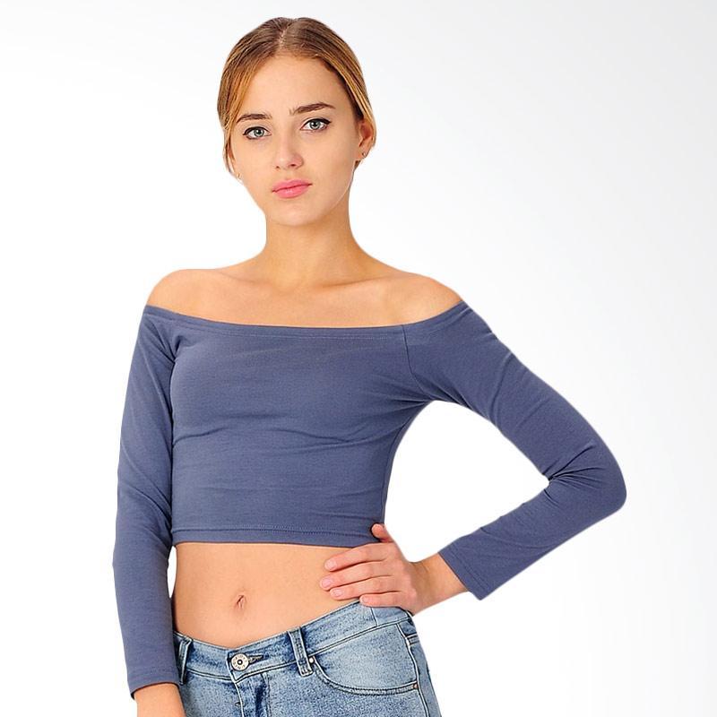 SJO & SIMPAPLY Horizon Neck Women's T-Shirt - Light Grey