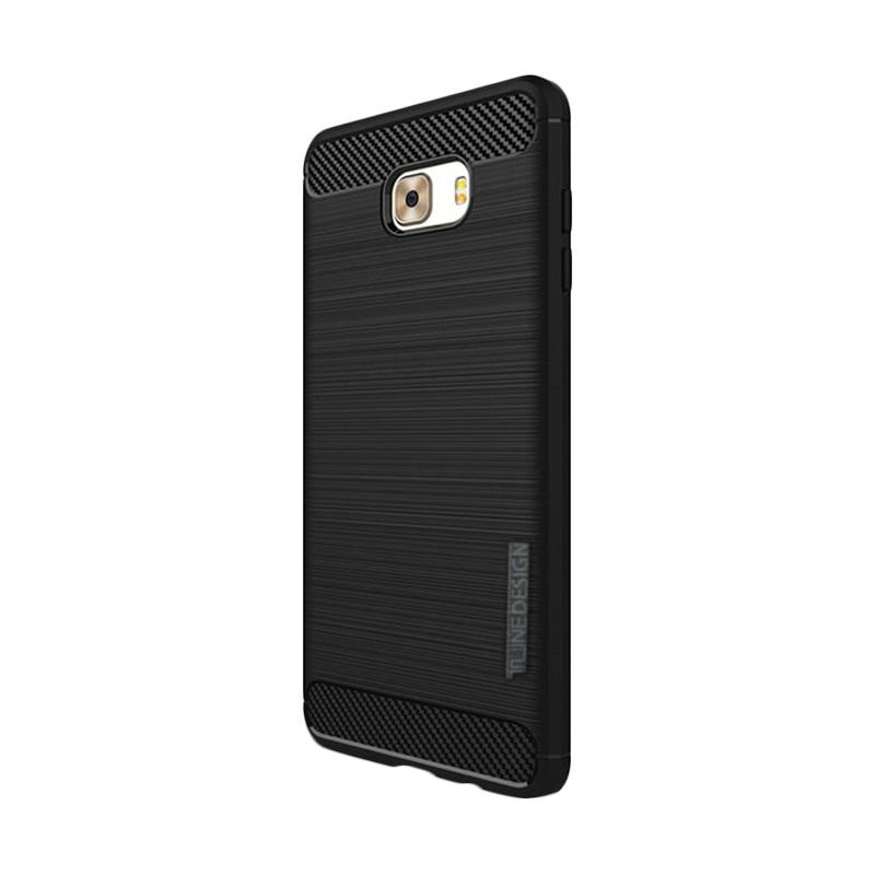 Tunedesign Slim Armor Casing for Samsung Galaxy C9 Pro - Black