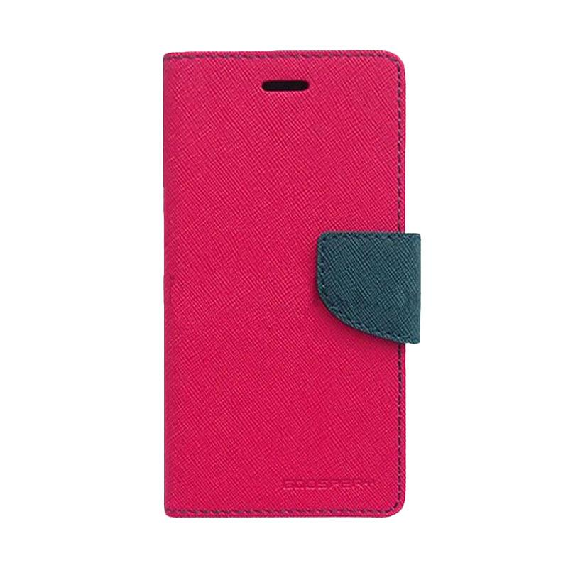 Mercury Fancy Diary Casing for Samsung Galaxy Note 5 N920  - Magenta Biru Laut