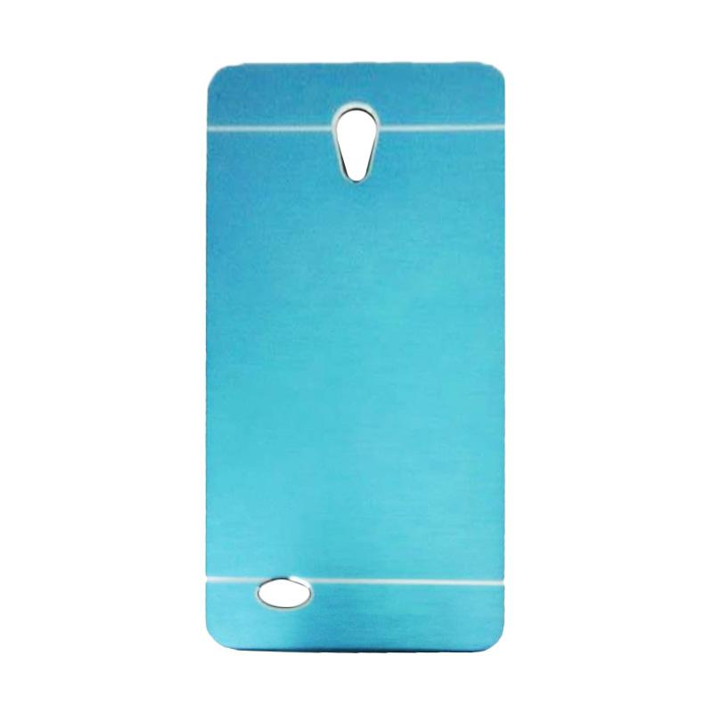 harga Motomo Metal Hardcase Backcase Casing for Oppo Joy 3 or A11W - Sky Blue Blibli