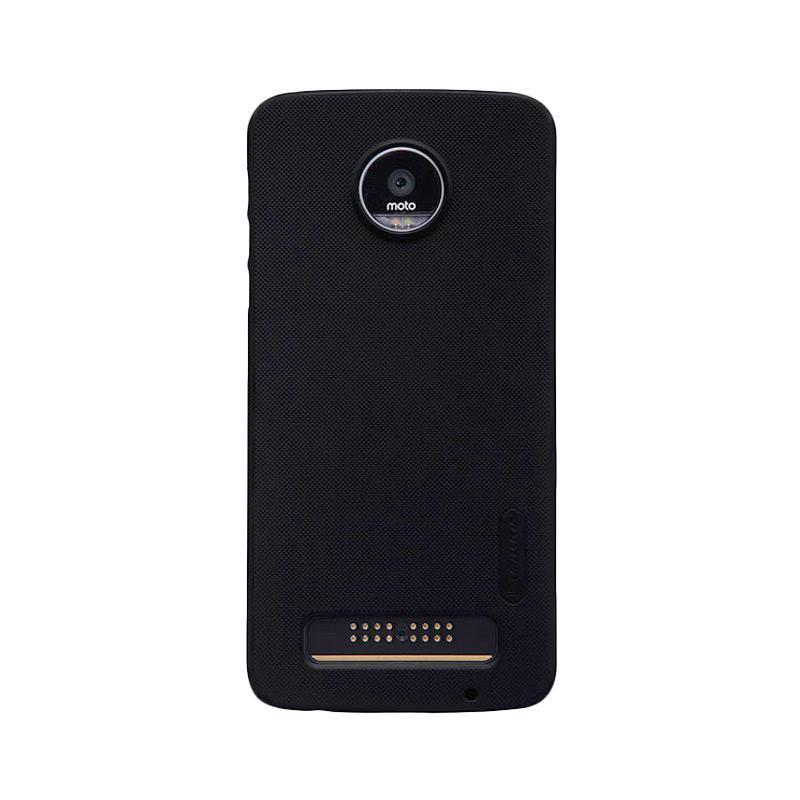 Nillkin Original Super Shield Hardcase Casing for Moto Z - Black [1 mm]