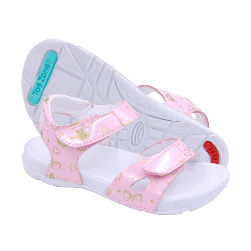 ToeZone Kids Kids Kei Ch Crown Sepatu Anak Perempuan - Pink