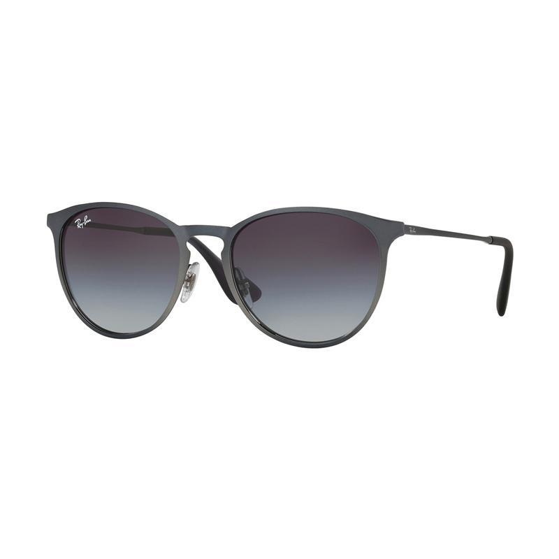 Ray-Ban RB3539 Sunglasses - Shot Grey Metallic [192-8G/ Size 54/ Grey Gradient]