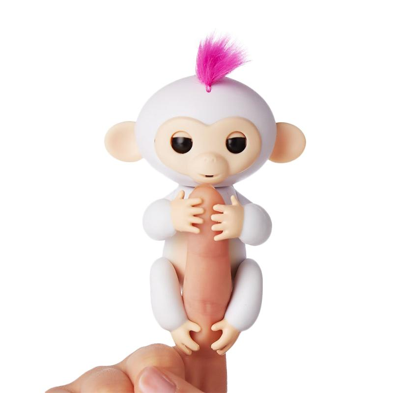 Wowwee Fingerlings Interactive Smart Baby Monkey Pet Toys Mainan Anak - Sophie
