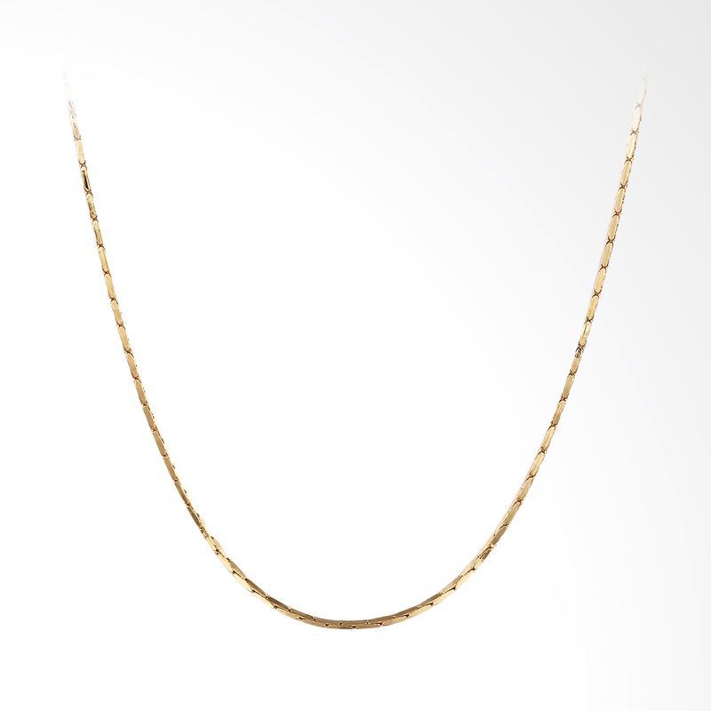 harga Bella & Co Chain Necklace LKN18KRGPC007-18 Aksesoris Kalung Rantai Lapis Emas. Blibli.com