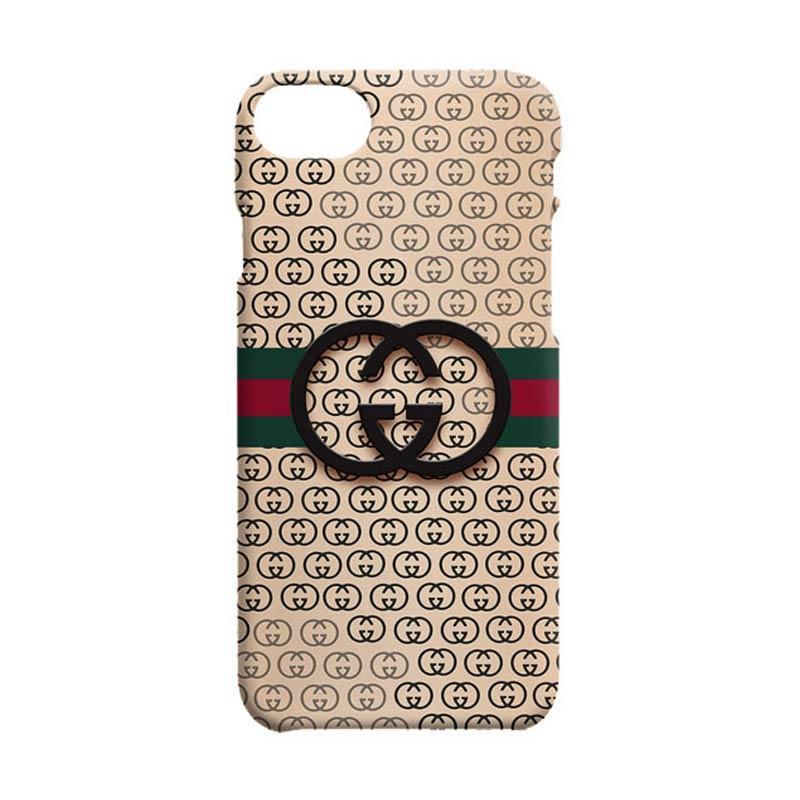 gucci 7 plus phone case. indocustomcase gucci logo casing for apple iphone 7 plus phone case