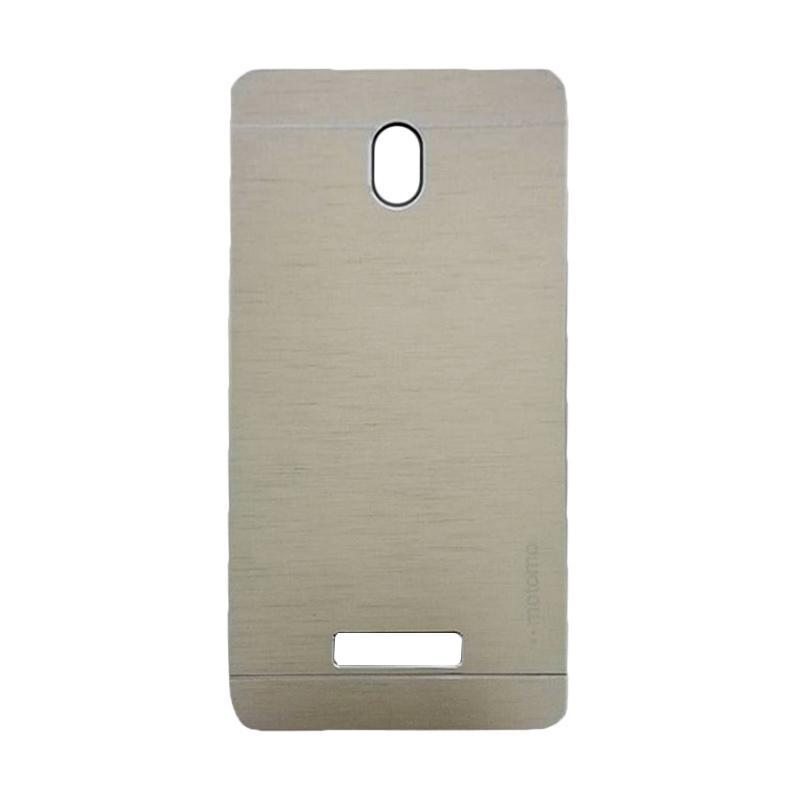 Motomo Metal Hardcase Backcase Casing for OPPO Yoyo or R2001 - Silver