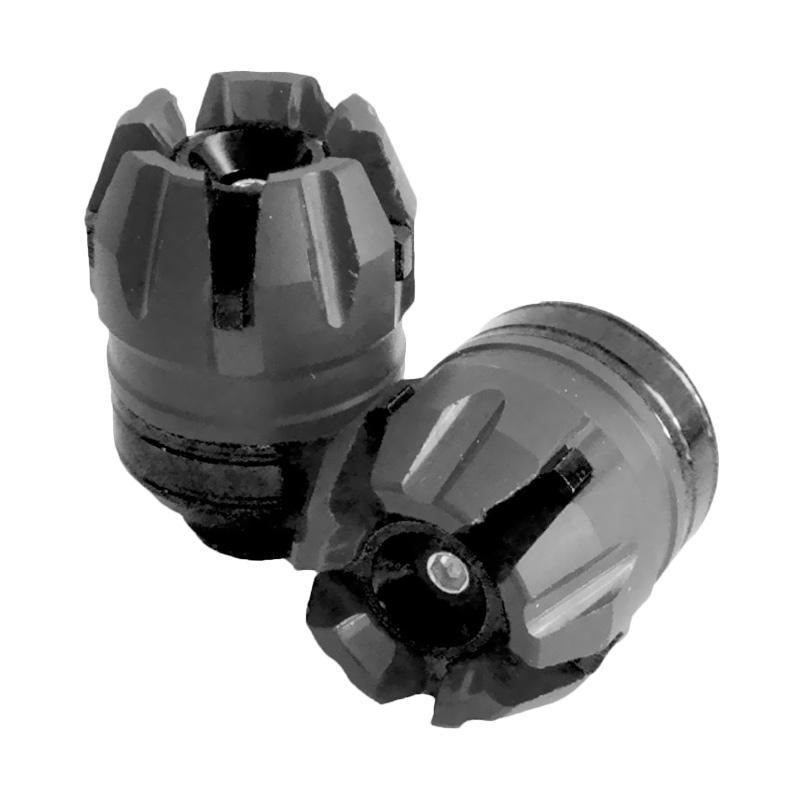 Raja Motor CNC Tutup As Roda for Yamaha Nmax- Hitam [STZ3061-Hitam]