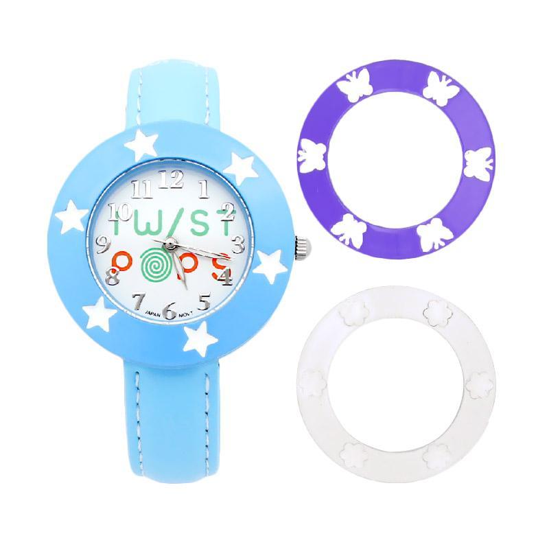 Twist Pops TWISTPOP-L Jam Tangan Remaja Perempuan - Blue