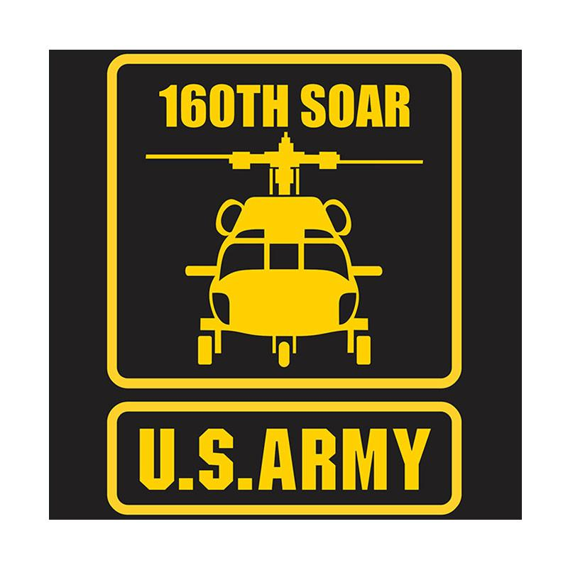 US Army 160th Special Operation Aviation Regiment Cutting Sticker