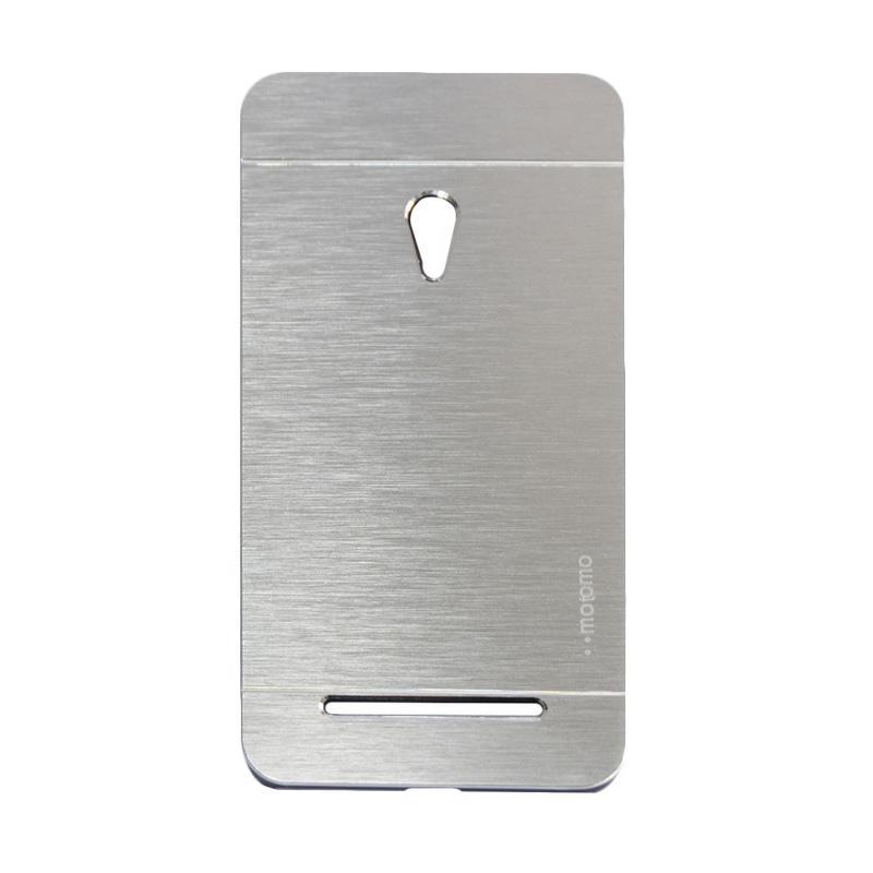 Motomo Metal Backcase Hardcase Casing for Asus Zenfone 6 A600CG - Silver