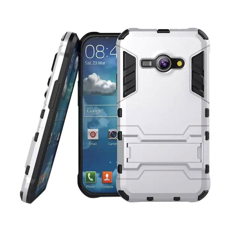 OEM Transformer Robot Iron Man Casing for Samsung Galaxy J2 - Silver