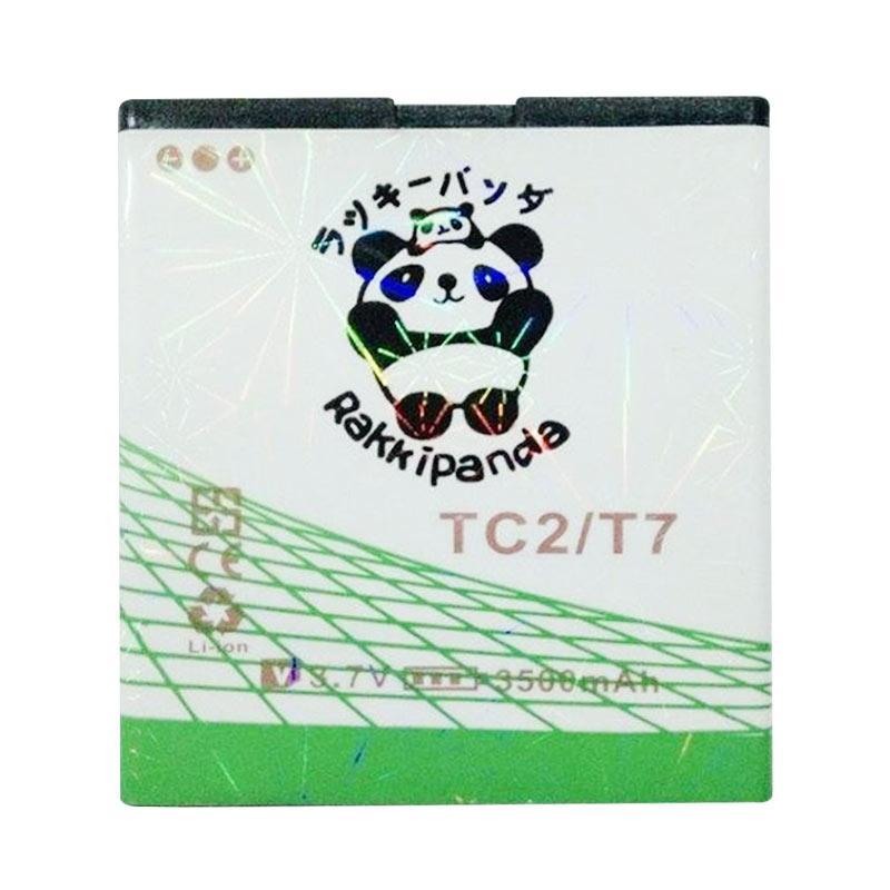 Baterai/Battery Double Power Double Ic Rakkipanda Evercoss Cross TC2 / T7 [3500mAh]
