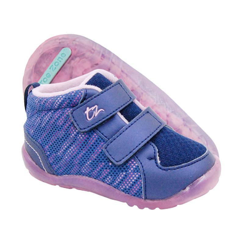 Toezone Kids Randall Net Fs Sepatu Anak Laki-laki - Navy Pink