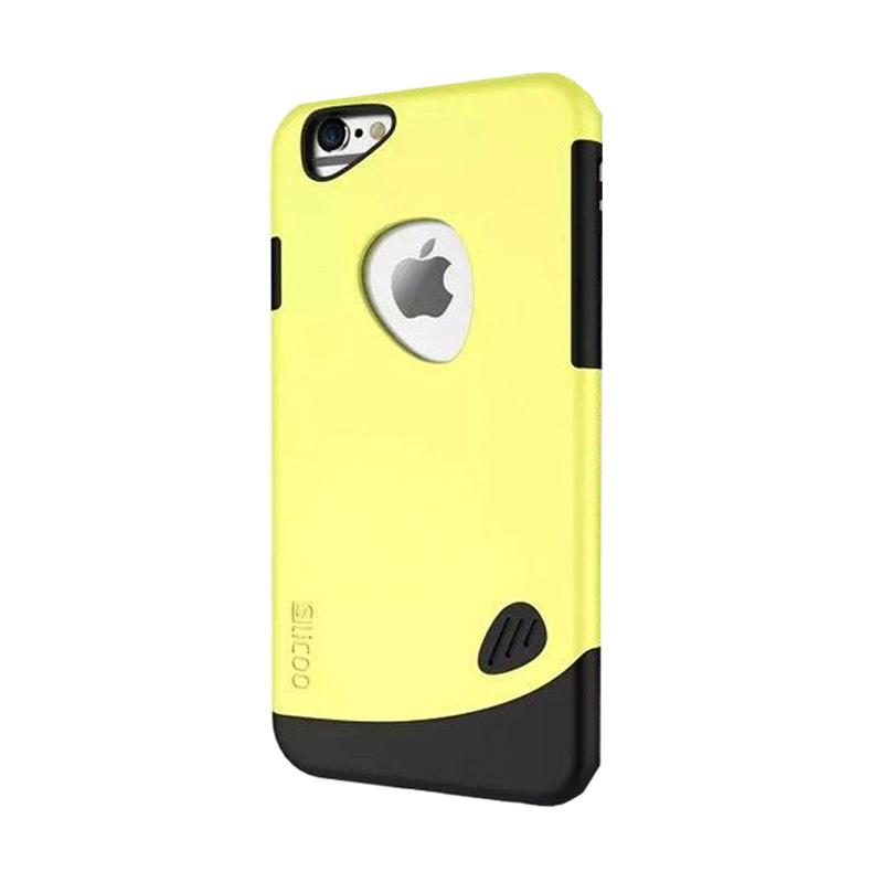 Slicoo Frosted Back Side Hardcase Casing for Apple iPhone 6 Plus - Yellow