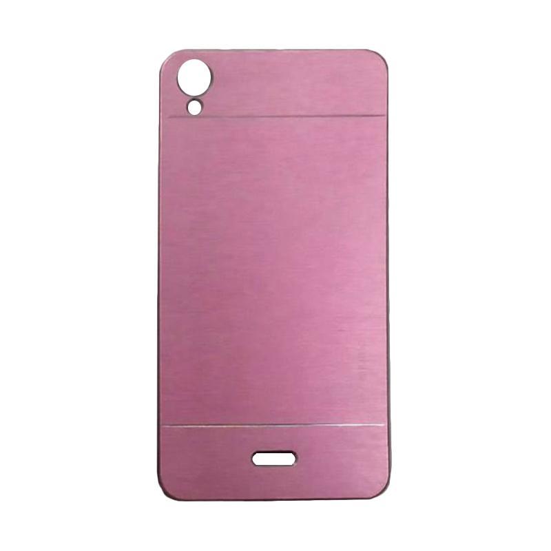 Motomo Metal Hardcase Backcase Casing for Infinix Hot Note X551 - Pink