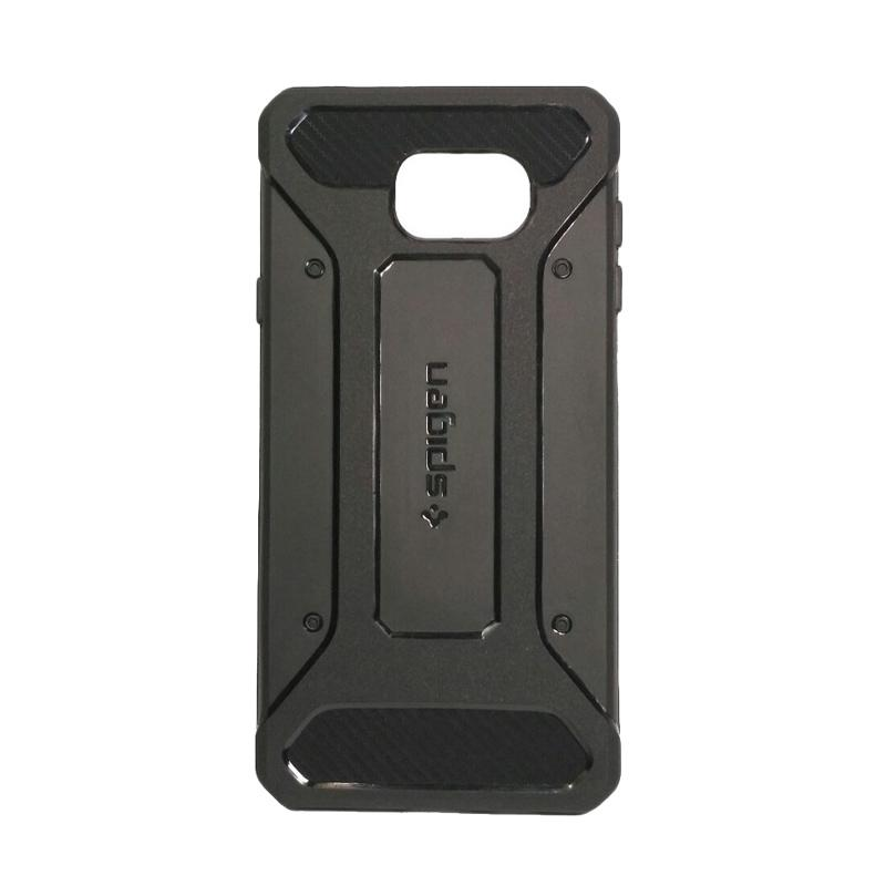 Spigen Carbon Casing for Samsung Galaxy A7 2016 or A710 - Hitam