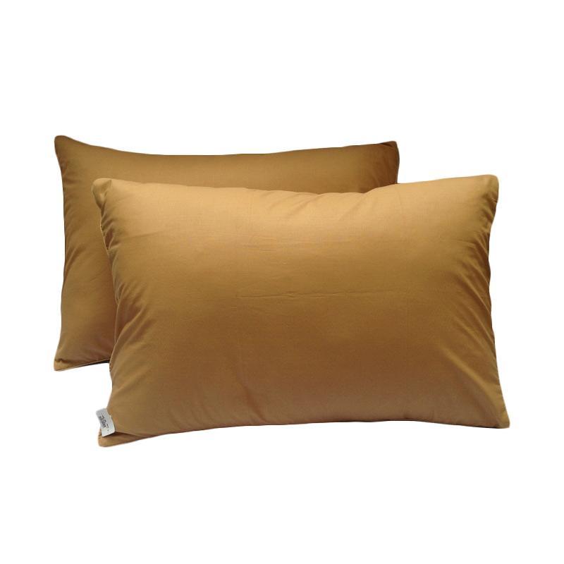 harga Tren-D-home Polos Sarung Bantal Tidur - Coklat Muda [47 x 67 cm/2 pcs] Blibli.com