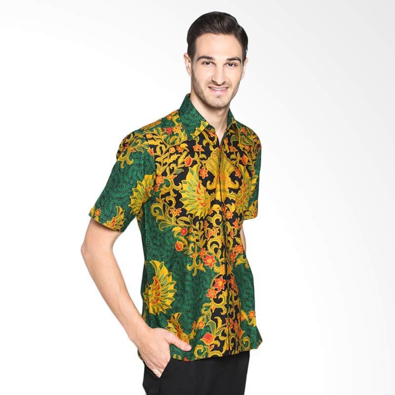 Batik Pria Tampan Gurdo Kencono PKMPD-01162422P Kemeja Pria - Green