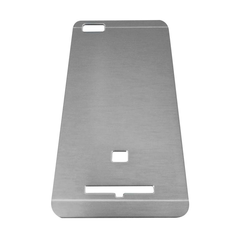 Motomo Metal Hardcase Backcase Casing for Xiaomi Mi4i or Mi 4i - Silver