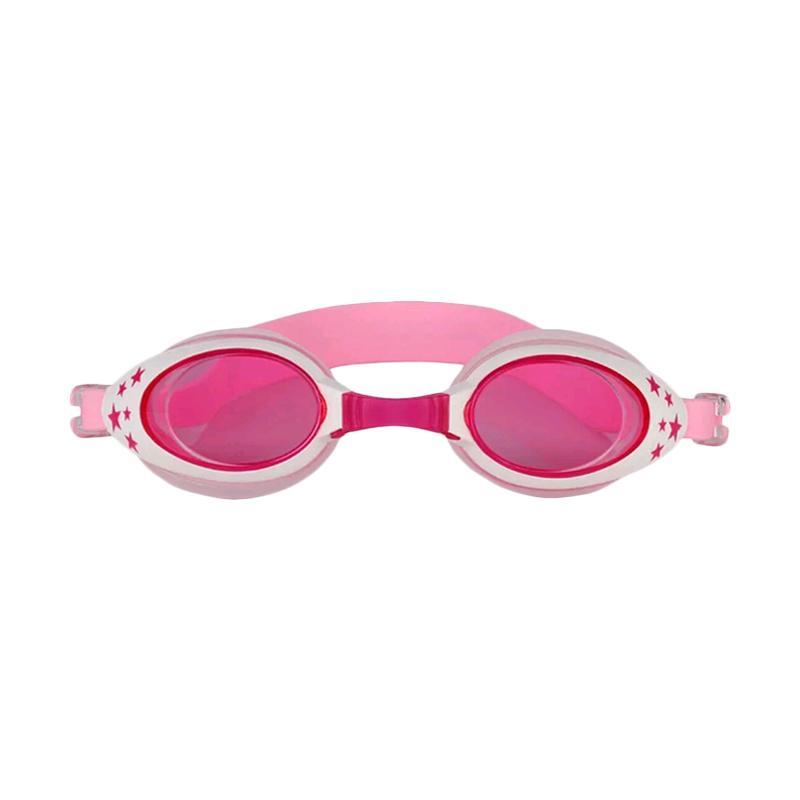 VR Swimming Googles Anti Fog UV Protection Kacamata Renang Anak - Pink