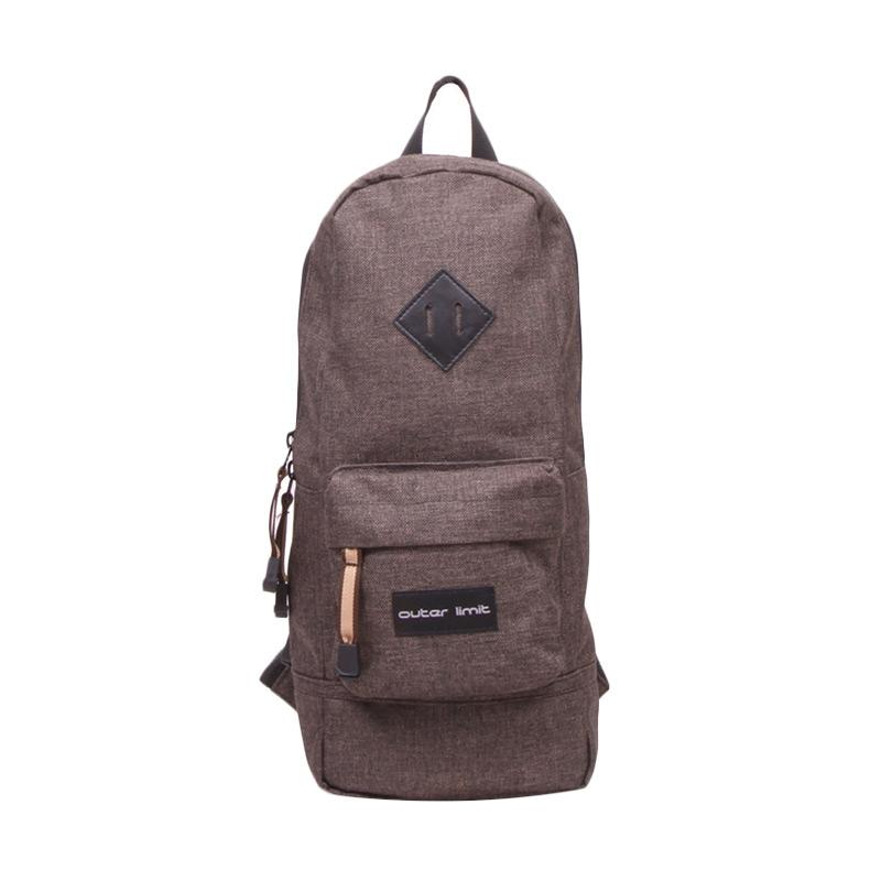 Outer Limit Mini Backpack Unisex BBP.37 Tas Ransel - Dark Brown