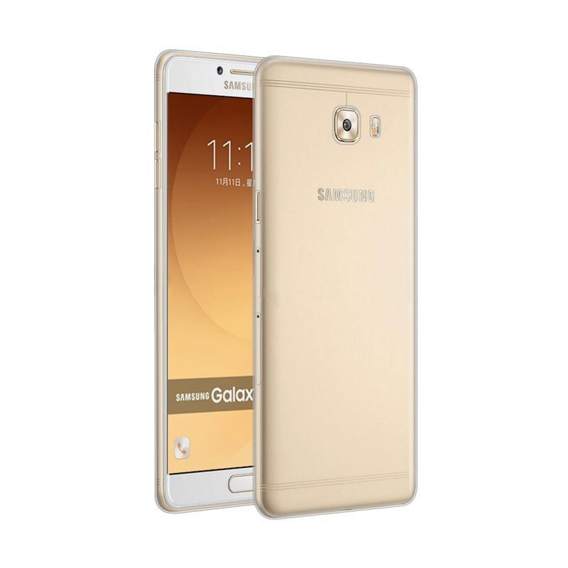 Ume TPU Softcase Casing for Samsung Galaxy C9 Pro Transparan .