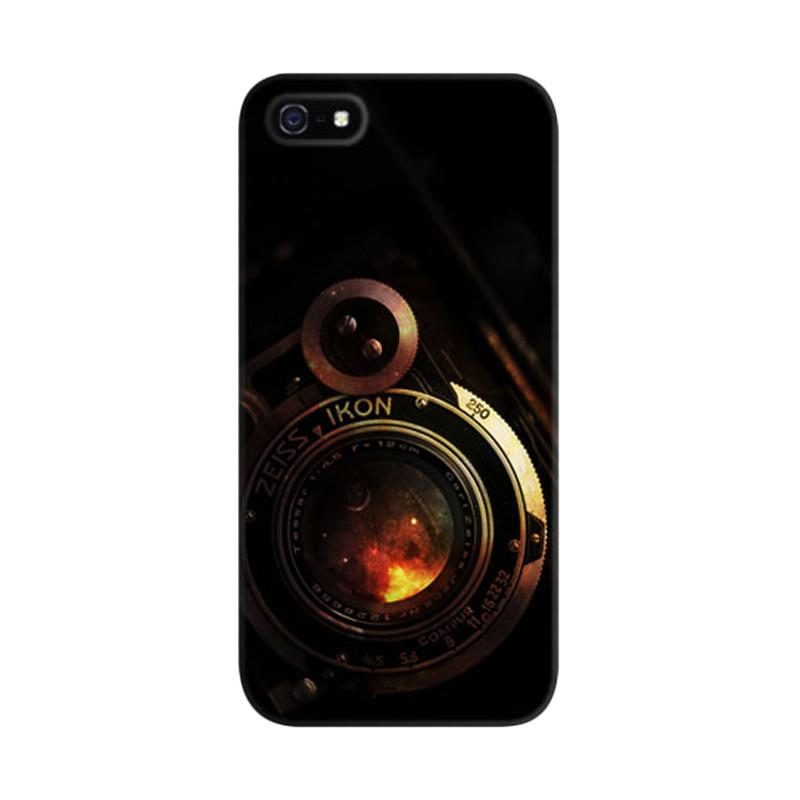 Indocustomcase Vintage Camera Lens Custom Hardcase Casing for iPhone 5/5S/SE