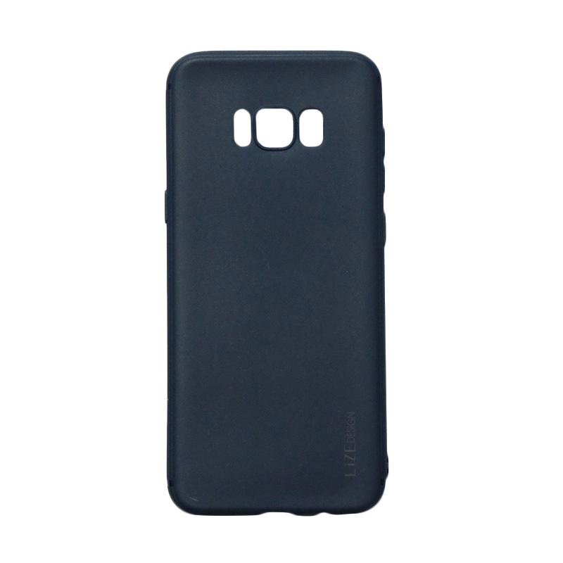 Lize Candy Case Style Softshell Softcase Casing for Samsung Galaxy S8 Plus - Navy