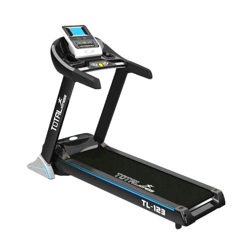 Total Fitness Treadmill Elektrik TL-123 Peralatan Fitness