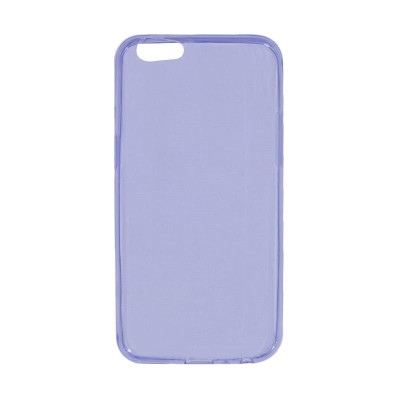VR Ultrathin Silicone Jellycase Softcase Casing for Oppo A57 - Purple