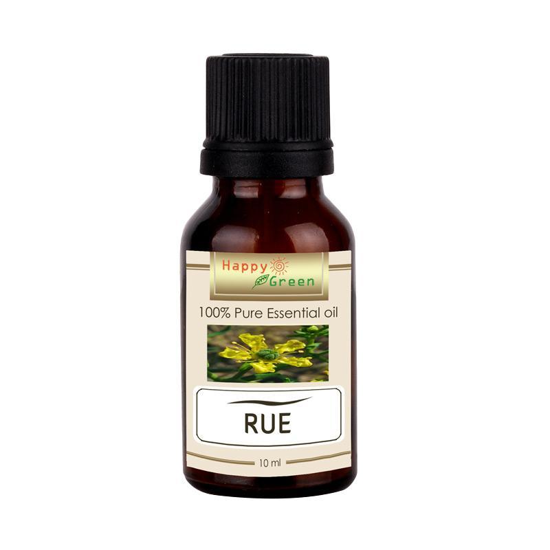 Happy Green 100% Murni & Natural Rue Essential Oil Minyak Rue [10 mL]
