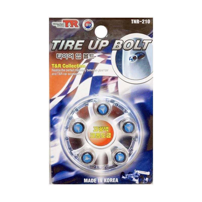 SIV Logo Mercedes Benz Tire Up Bolt Set Tutup Pentil Ban Mobil [5 pcs]