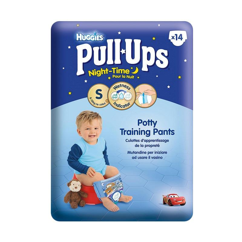 harga Mothercare 460559 Huggies Boys Night Time Pull Ups Size 4 [8-15kg/14 Pack] Blibli.com