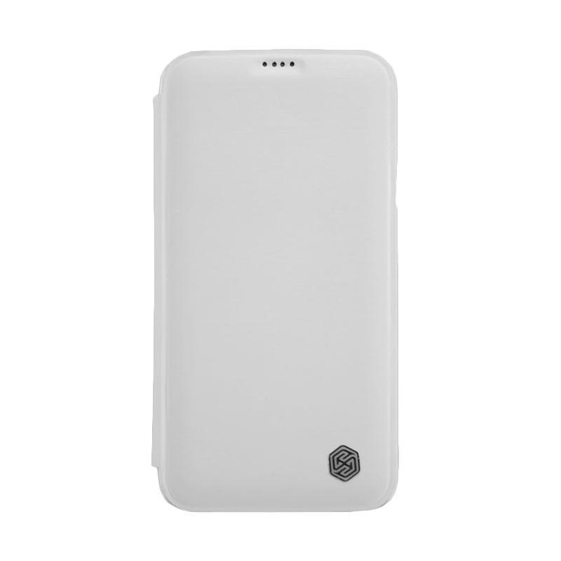 Nillkin Rain Leather Orginial Casing for Samsung Galaxy S5 - White
