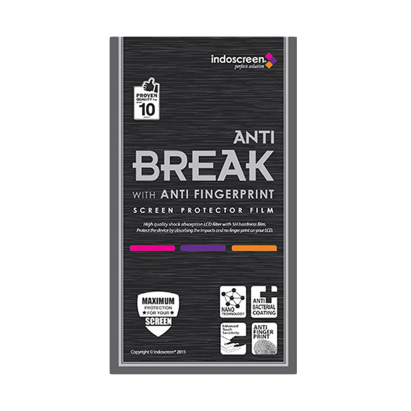 Indoscreen Anti Break Screen Protector for Oppo F3 Plus - Clear