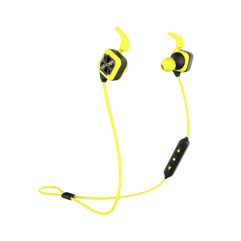 Bluedio CCK KS Plus Outdoor Sports Headset - Kuning [Bluetooth 4.1]