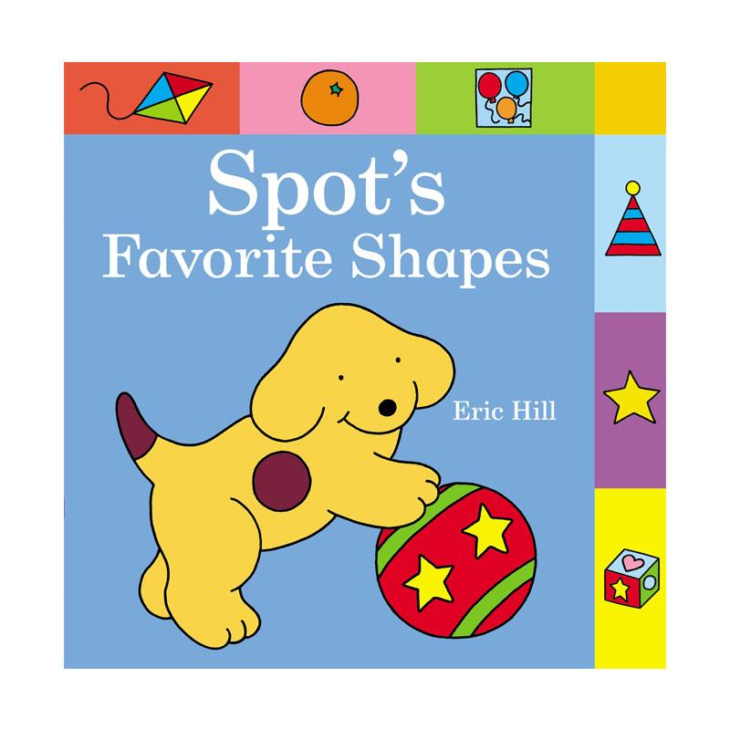 harga Warne Spot's Favorite Shapes Buku Anak by Eric Hill Blibli.com