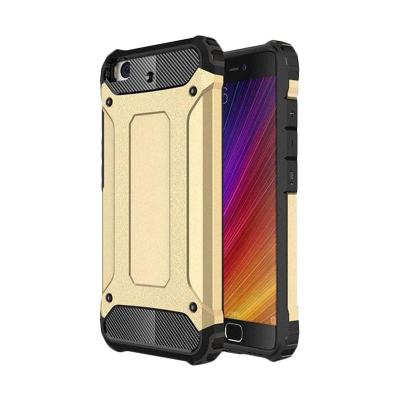 OEM Transformers Iron Robot Hardcase Casing for Oppo F1S F1 S A59 - Gold