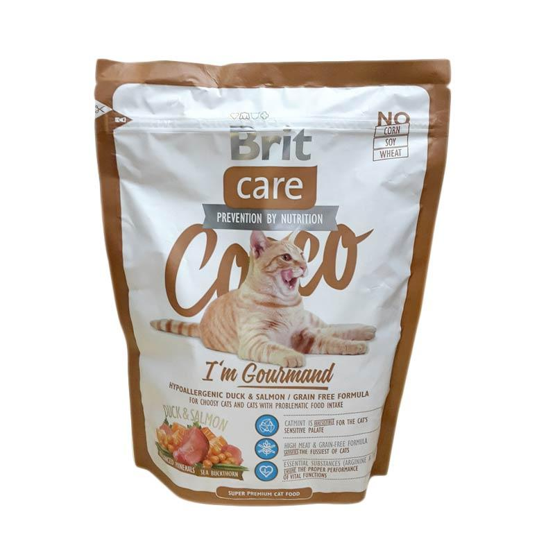 Brit Care Cocco I'm Gourmand Super Premium Cat Food Makanan Kucing [400 g]