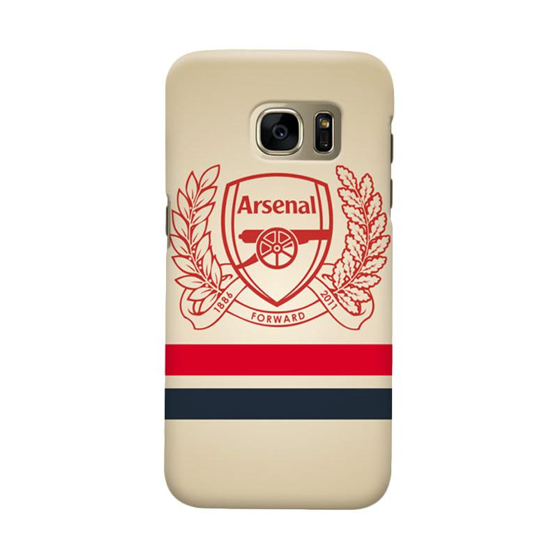 Indocustomcase Arsenal FC AFC01 Casing for Samsung Galaxy S6