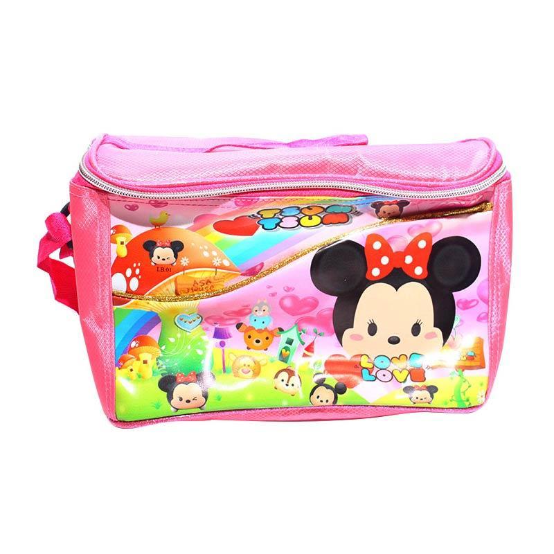 Istana kado IKO00715 Susu dan Piknik Tsum Tsum Tas Makan Anak - Pink