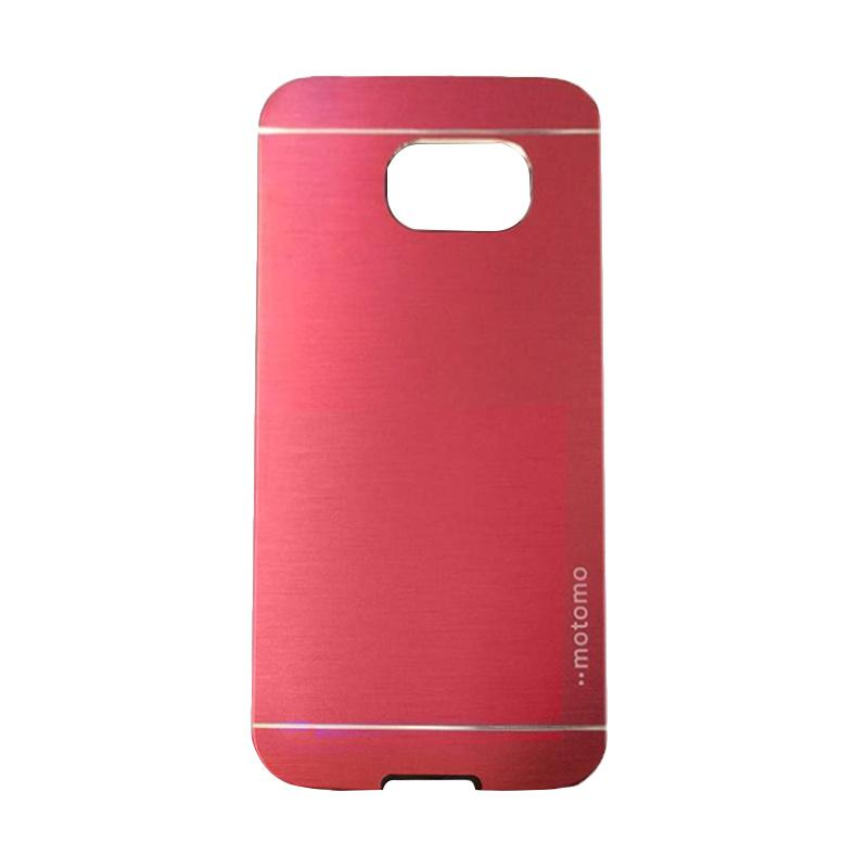 Motomo Metal Hardcase Backcase Casing for Samsung Galaxy S6 or G920 - Red