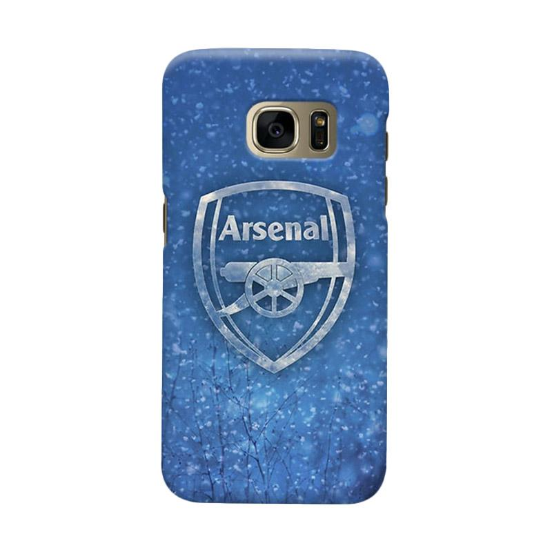 Indocustomcase Arsenal FC AFC02 Casing for Samsung Galaxy S6