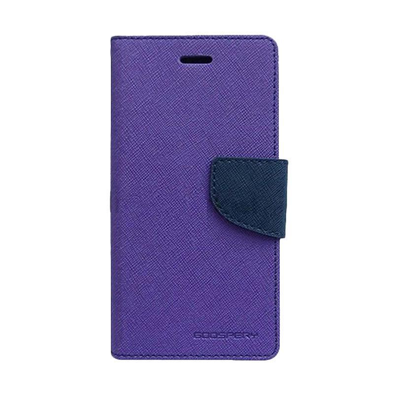 harga Mercury Fancy Diary Casing for Asus Zenfone Selfie ZD551KL - Ungu Biru laut Blibli.com